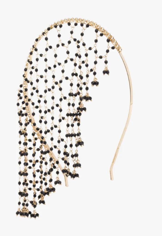 Rosantica Gold Tone Carmen Beaded Headband