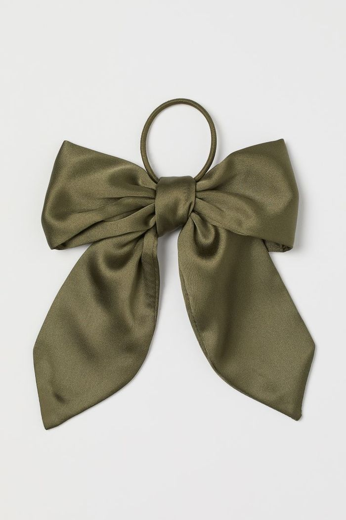 H&M Bow-Embellished Hair Elastic