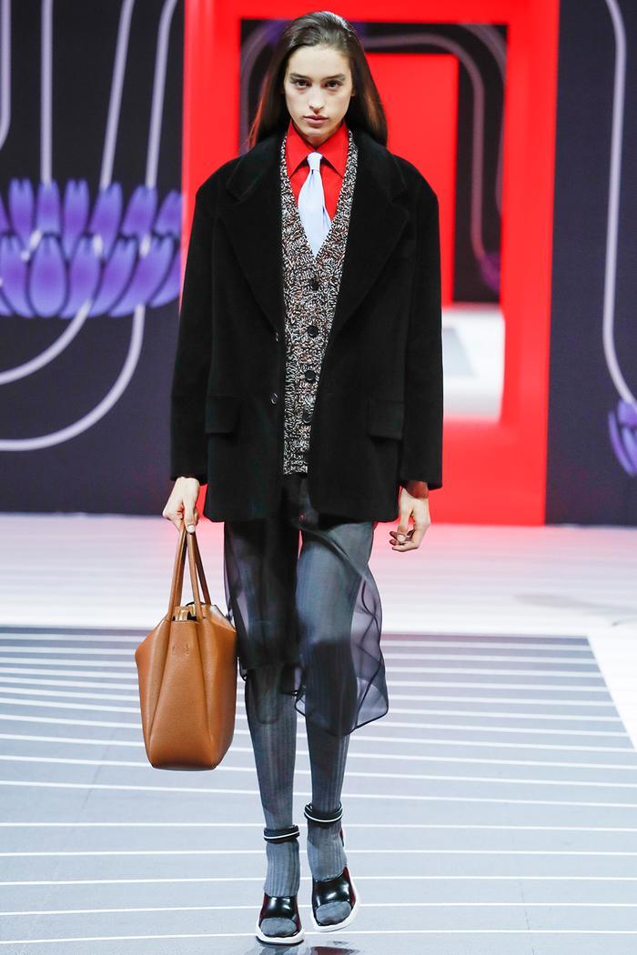 Tie Trend: Prada Runway Show