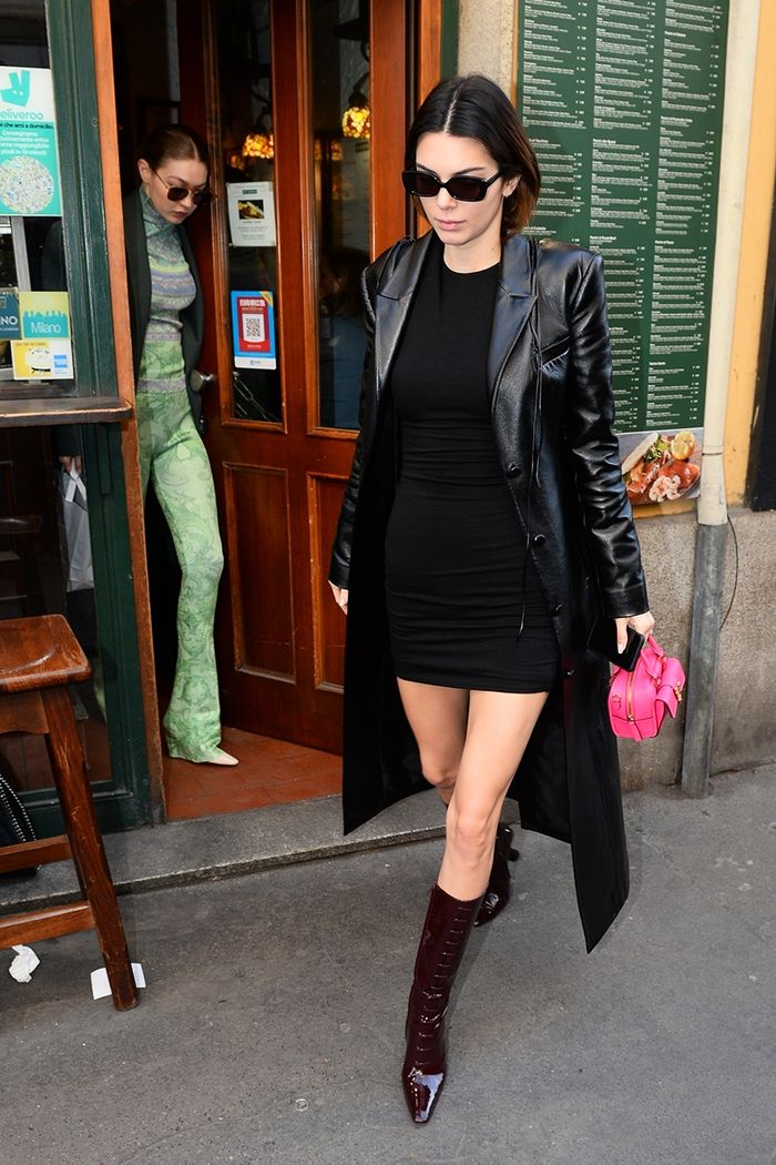 Kendall Jenner Reformation dress