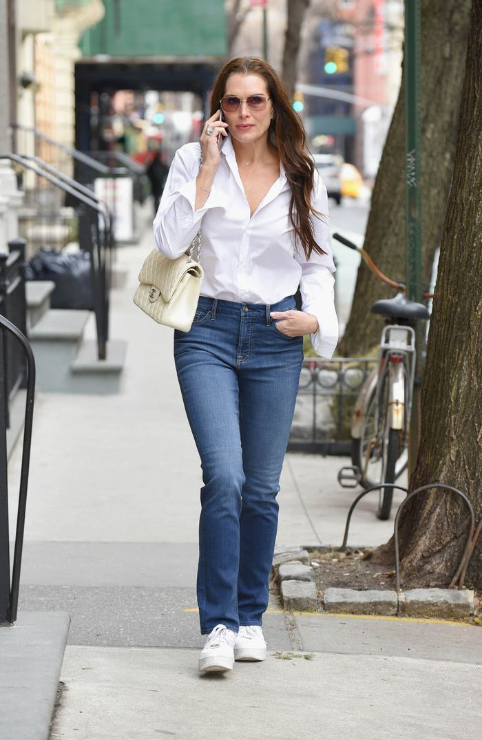 Brooke Shields Wore Affordable Jeans