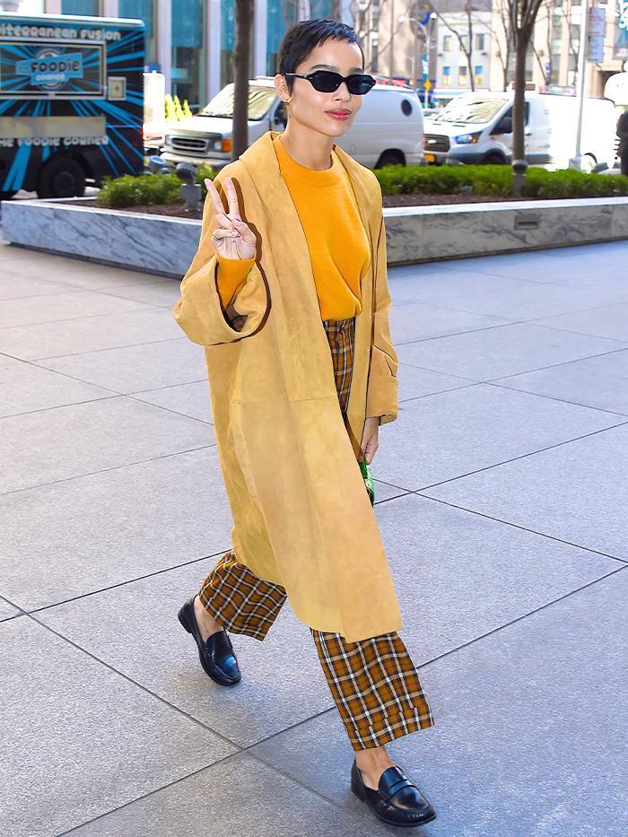Zoe Kravitz Style: Spring Outfit Inspiration