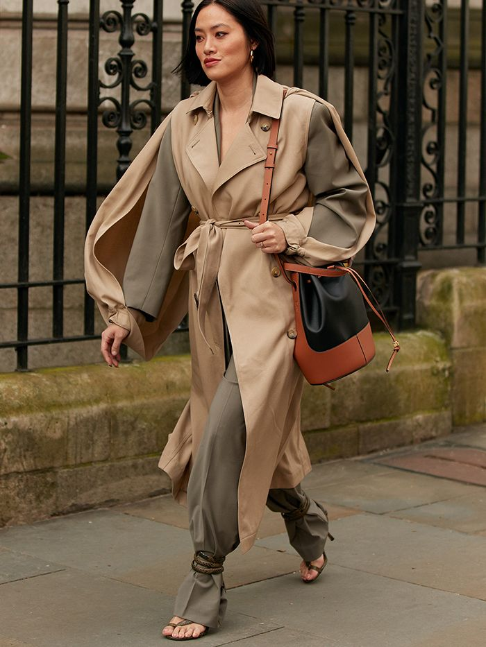 Bottega Veneta Street Style: Spiral Sandals