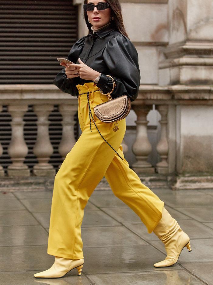Fashion Week Street Style: Yuul Yie Boots