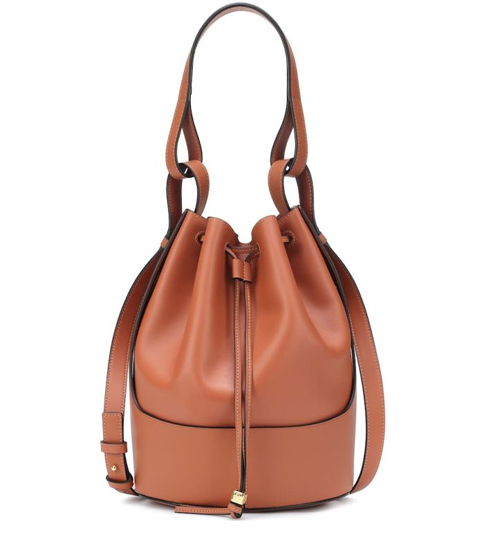 Loewe Balloon Medium Leather Shoulder Bag