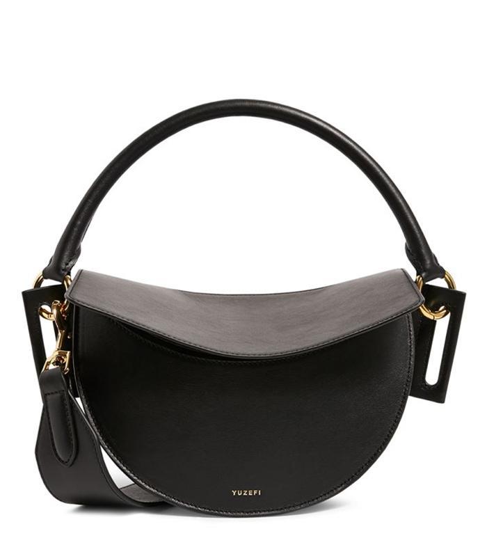 Yuzefi Leather Dip Shoulder Bag