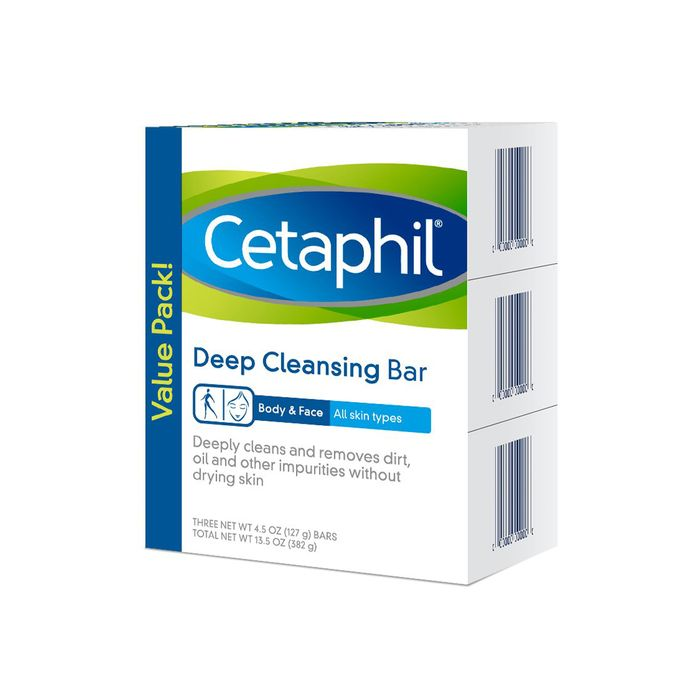Cetaphil Deep Cleansing Bar for Face and Body