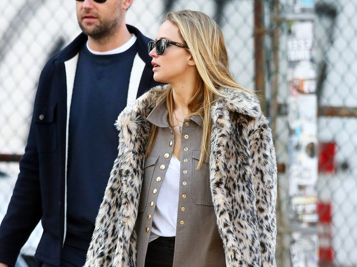 Jennifer Lawrence Wore J.Crew's Best Sale Item With Legendary Skinny Jeans