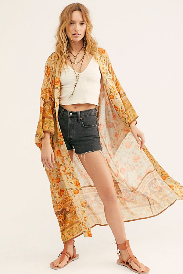 Spell and the Gypsy Collective Seashell Maxi Robe