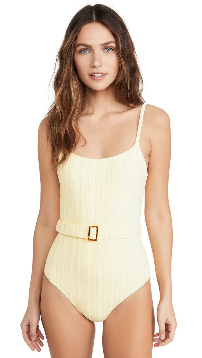 The 21 Best One-Piece Swimsuits for Beach Season | Who What Wear