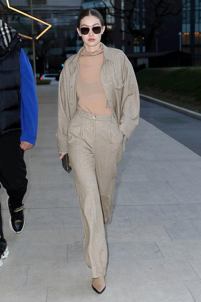 Gigi Hadid affordable wardrobe basic