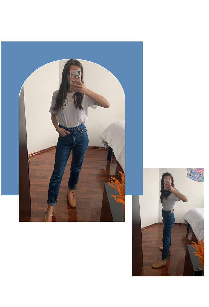 Best Petite Jeans: H&M Vintage Slim Ankle Jeans