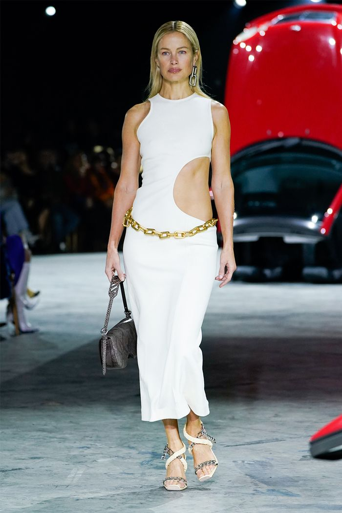 Cutout clothing trend: Off-White runway