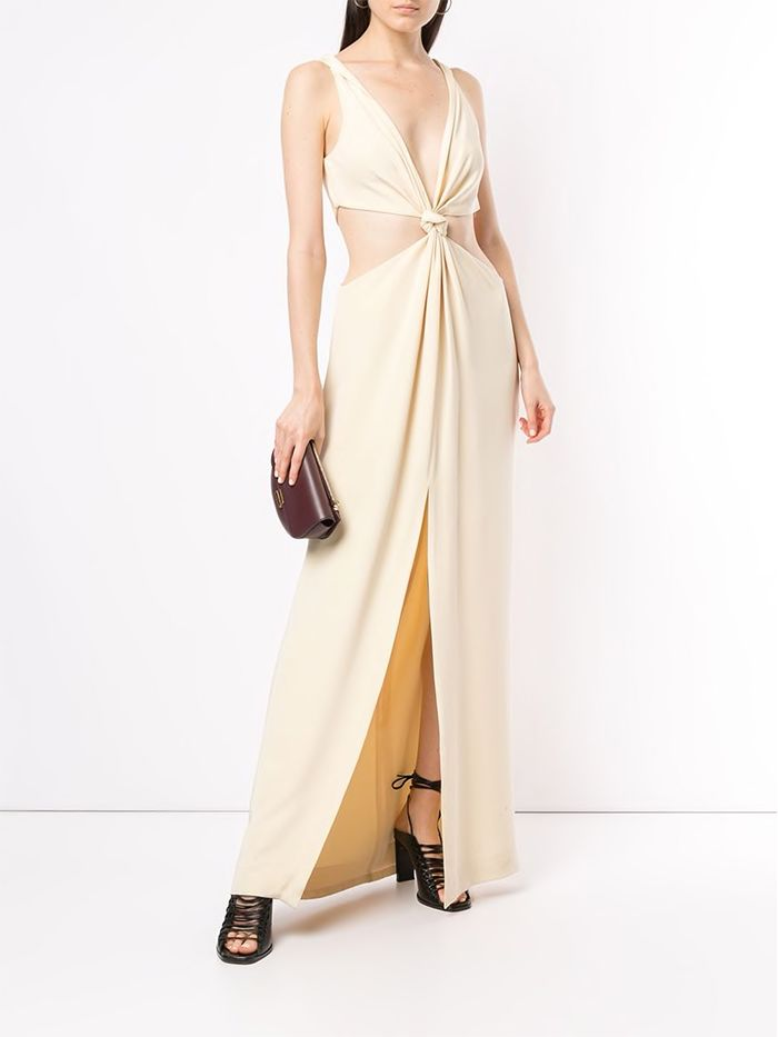 Dion Lee Knotted Cutout Gown