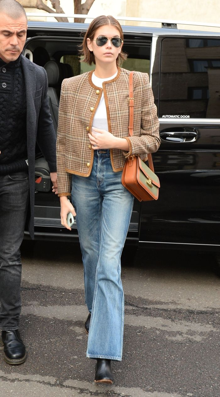 The Coolest Outfits From Kaia Gerber