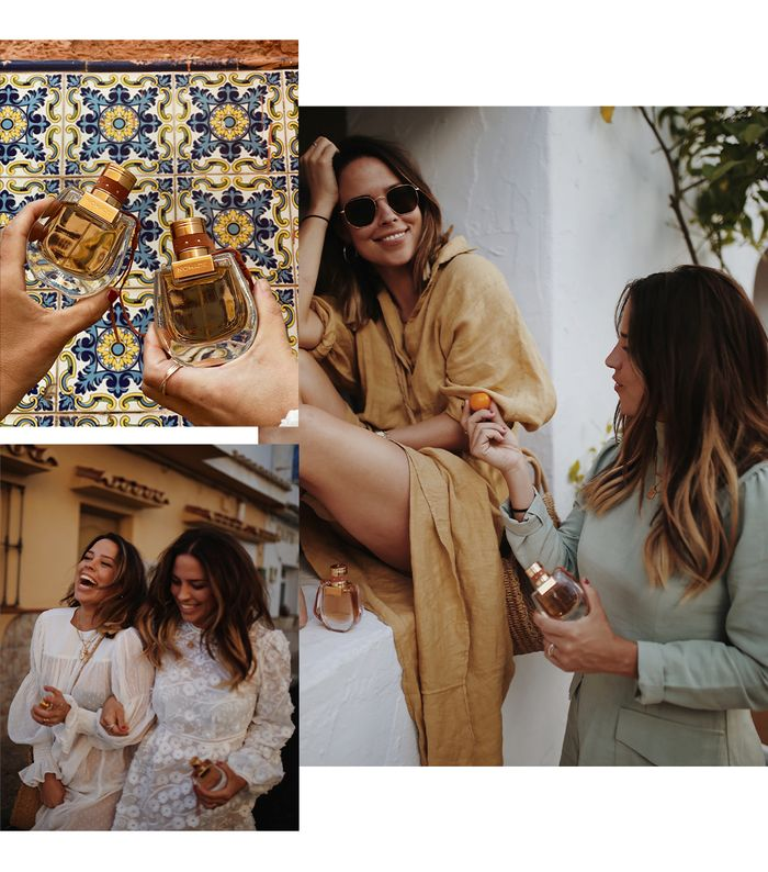 Collyer Twins: Chloe Nomad fragrance trip to Spain