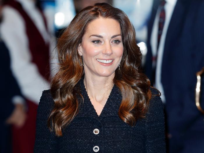 Kate Middleton's Metallic Shoes