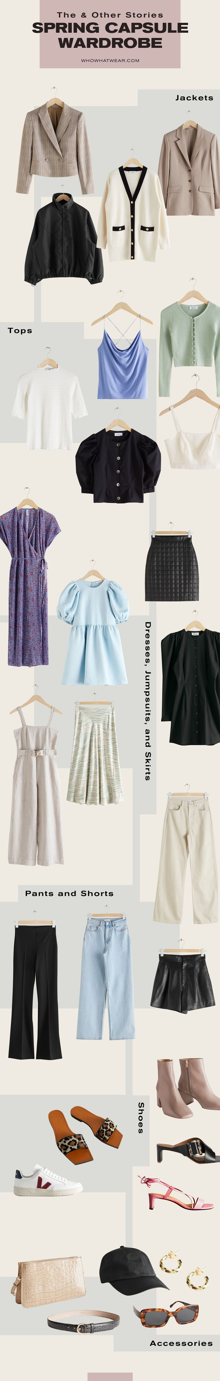 & Other Stories Spring Capsule Wardrobe