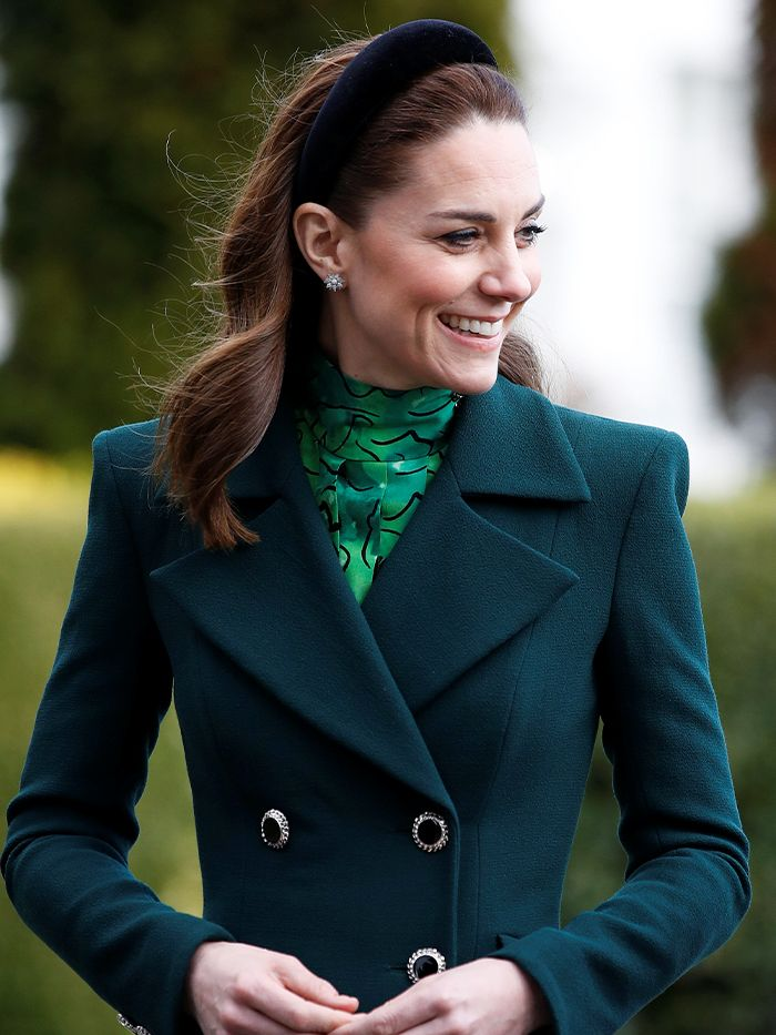 Kate Middleton Just Wore All Green For Royal Tour Of