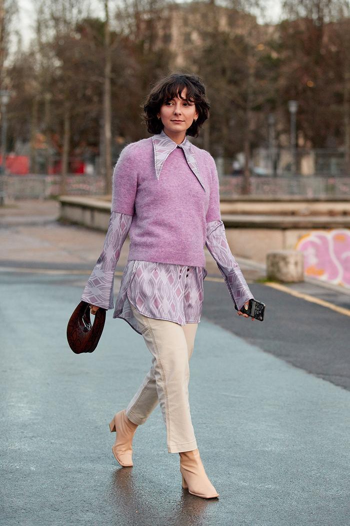 Paris fashion week street style fall 2020