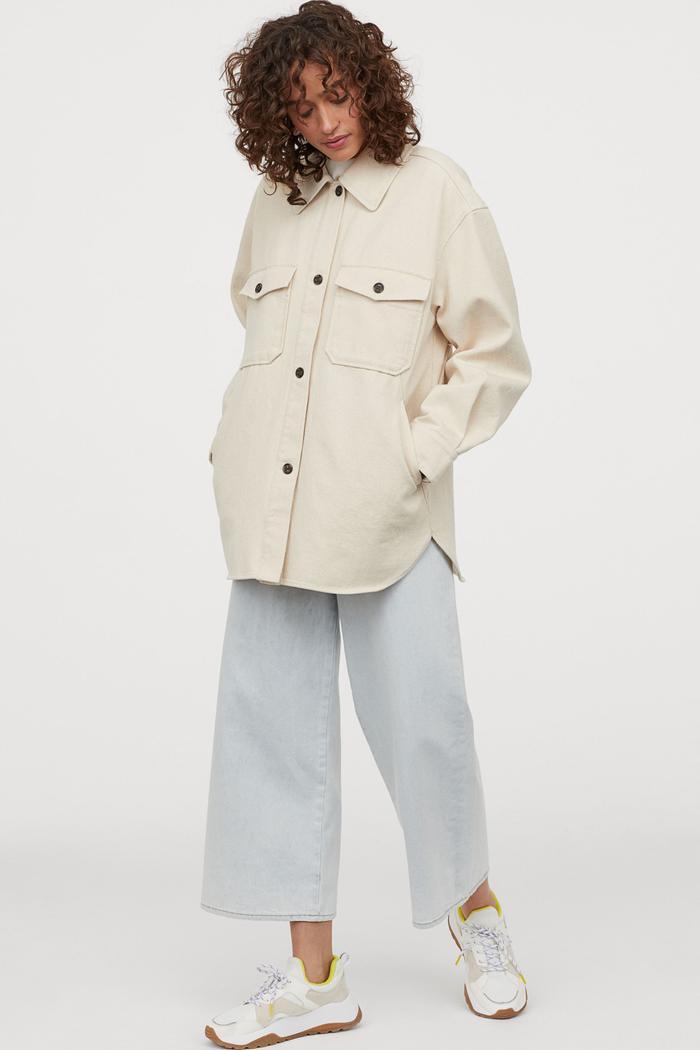 H&M Cotton Shacket