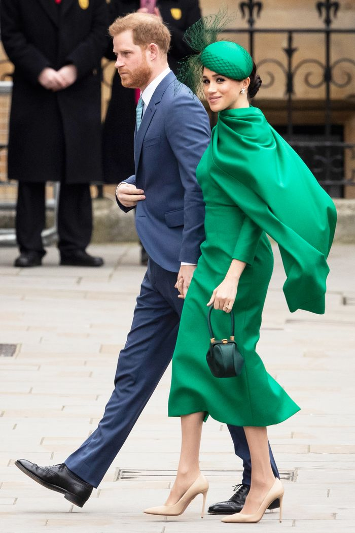 Meghan Markle's Green Outfit