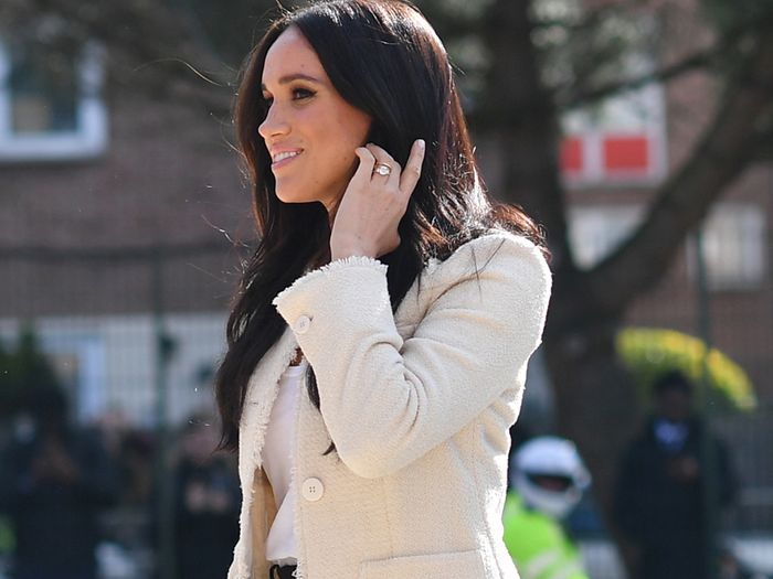 Meghan Markle Just Wore Our Favourite £300 Designer It Bag