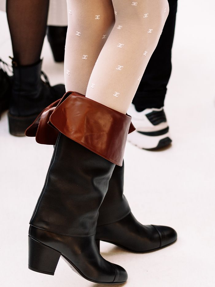 Fall Accessory Trends: Chanel Tights