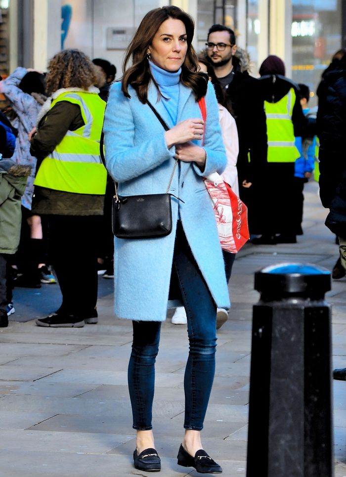 Kate Middleton Wears Skinny Jeans and Loafers on Her Day Off