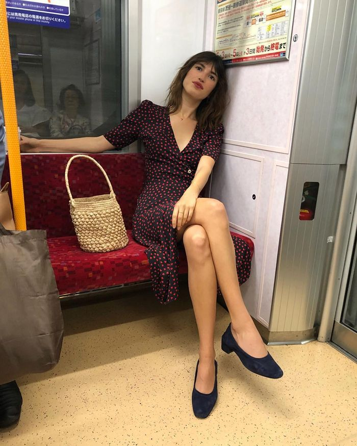 Shoes to Wear With Dresses: Jeanne Damas