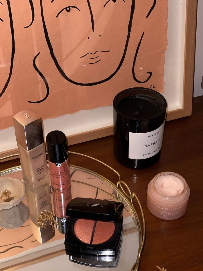 Mother's day gift guide: Emma Hoareau cosmetics table