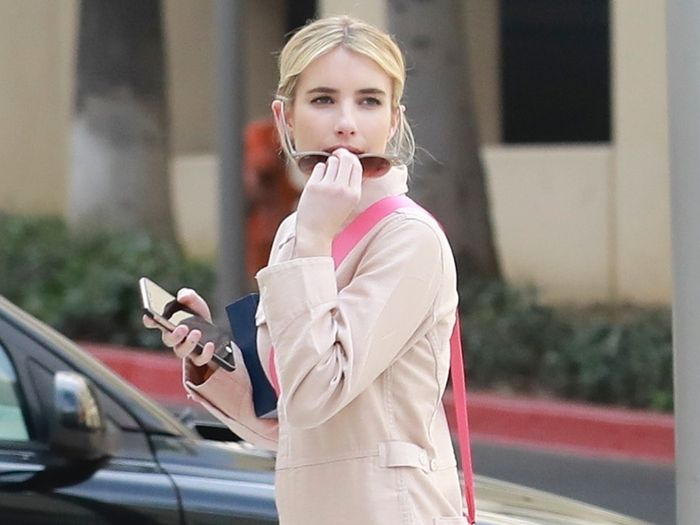 Emma Roberts Just Wore the Prettiest Rothy's Shoes