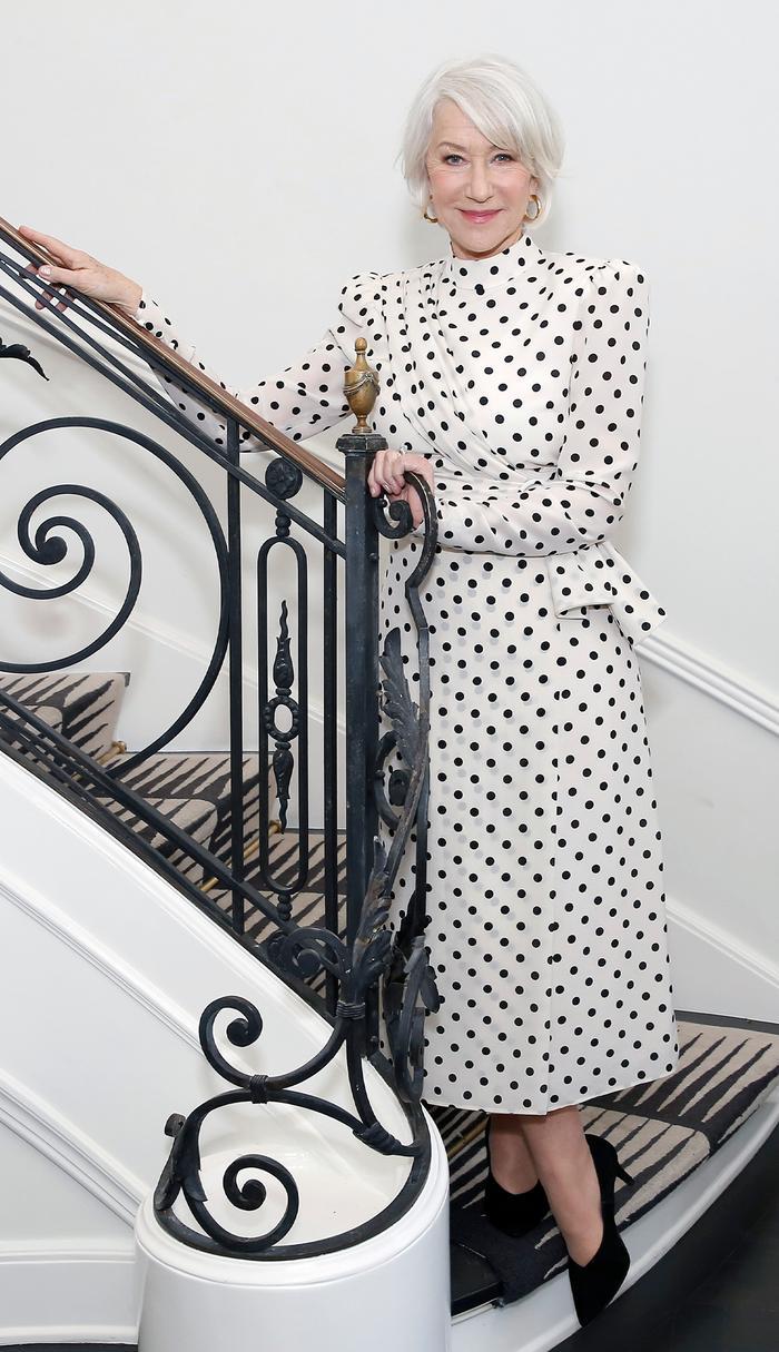 The Most Stylish Celebs Over 50 - Helen Mirren