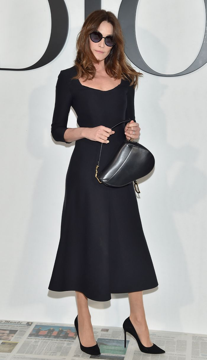The Most Stylish Celebs Over 50 - Carla Bruni