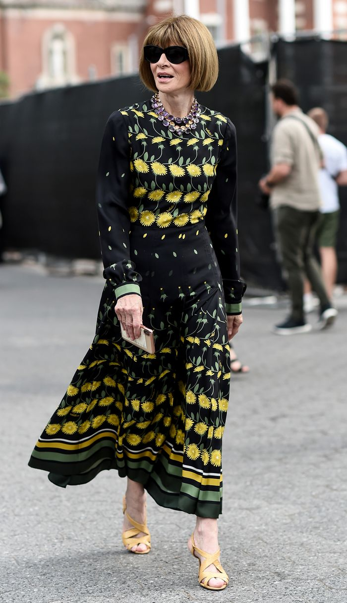 The Most Stylish Celebs Over 50 - Anna Wintour