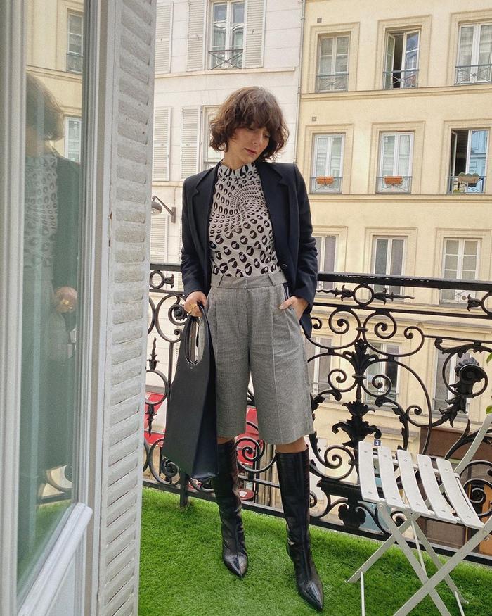 Alyssa Coscarelli Instagram Shorts Outfit