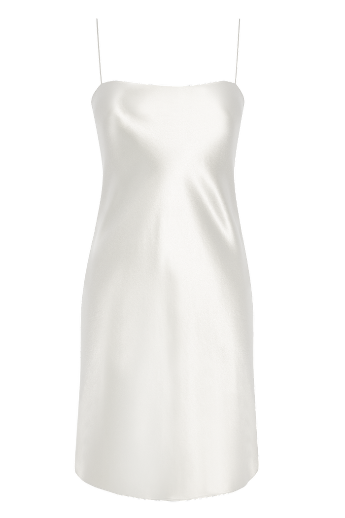 Refine The Rachel Silk Mini Slip Dress