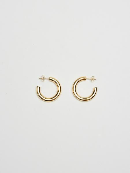 Bagatiba Mini Gold Hollow Hoops