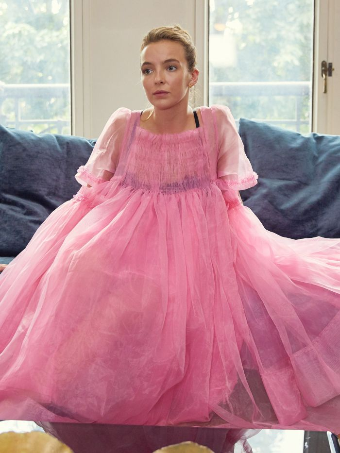 best dressed tv characters: villanelle