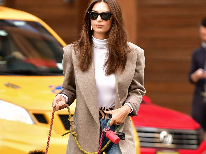 From EmRata to Rosie HW, Here Are the 10 Blazer Outfits We Love