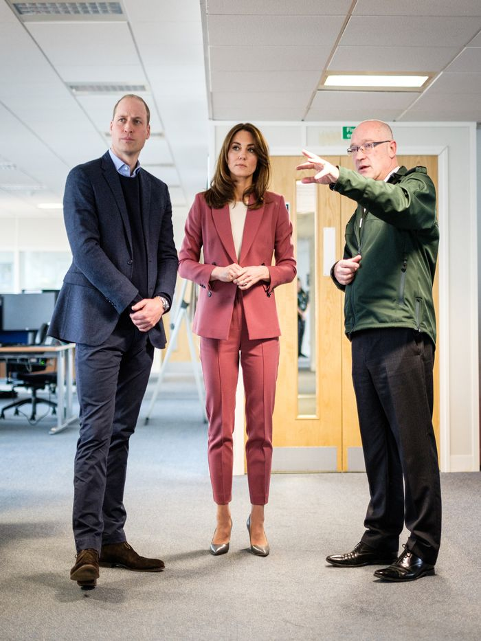 Kate Middleton and Prince William Visit an Ambulance Call Center