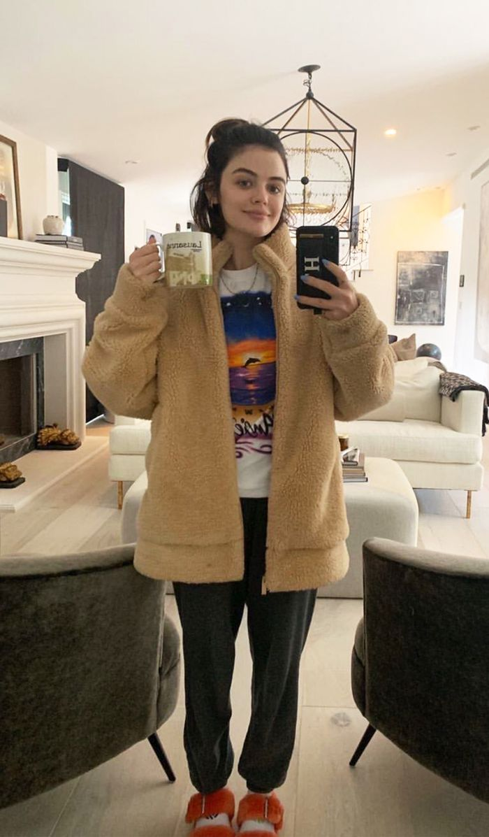 Celebrity Working From Home Outfits