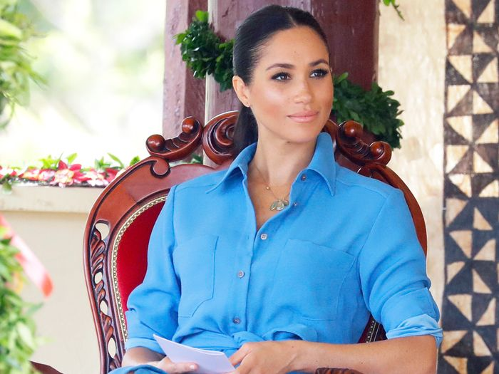 These Are Officially Meghan Markle's 4 Power Colors