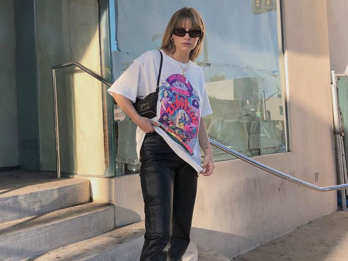 The 20 Best Oversize Tees and the Fashion-Girl Outfit Inspo to Go With Them
