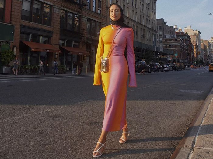 Two-Tone Dresses Are Spring's Latest Big Trend | Who What Wear