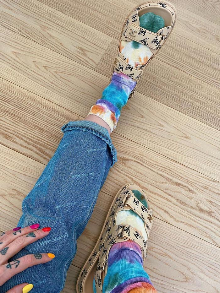 dad sandals 2020: marianne theodorsen