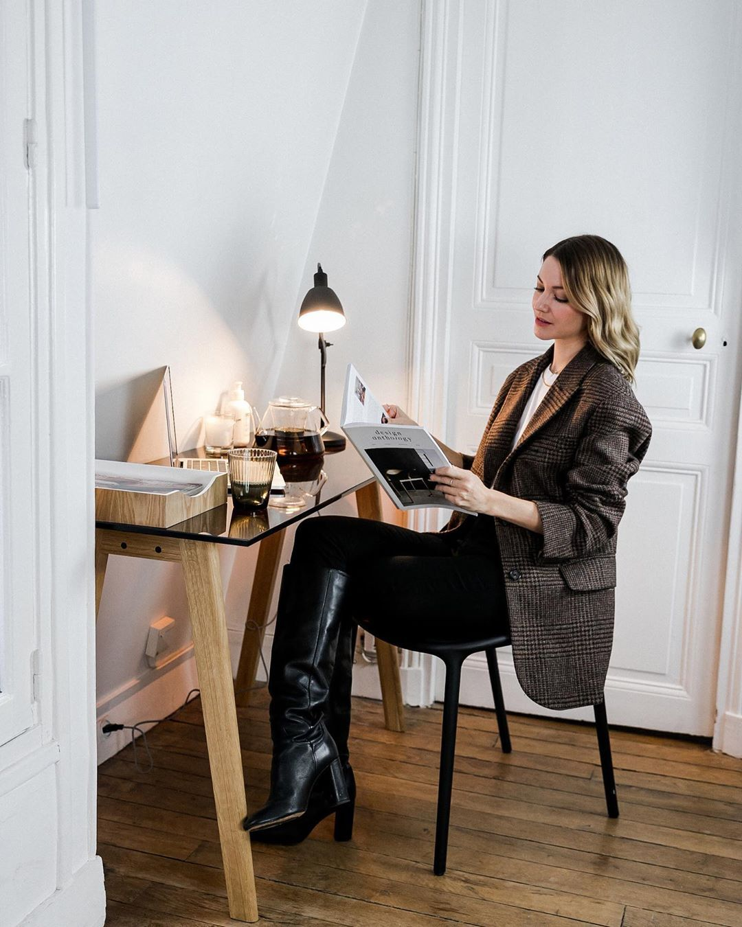 How to Turn Your Desk Into a Stylish Working Haven
