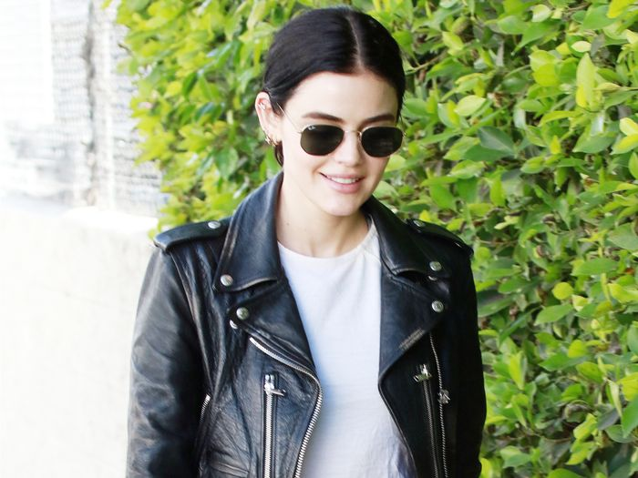 Lucy Hale Wore the Only Sneakers I'd Consider Buying Right Now