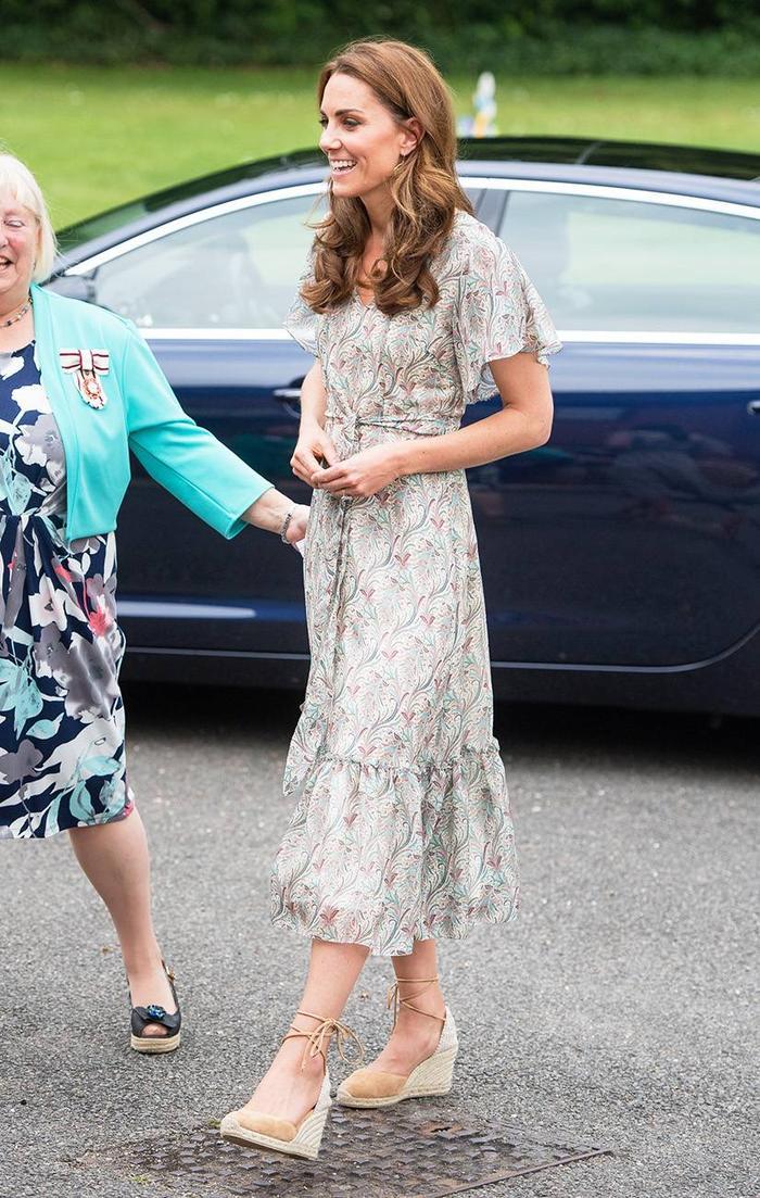 Kate Middleton Castaner Espadrilles