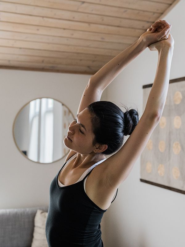 Benefits of Pilates: lengthens the body